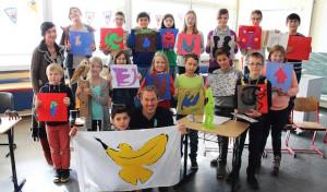 Kunstprojekt an der Sekundarschule Geseke