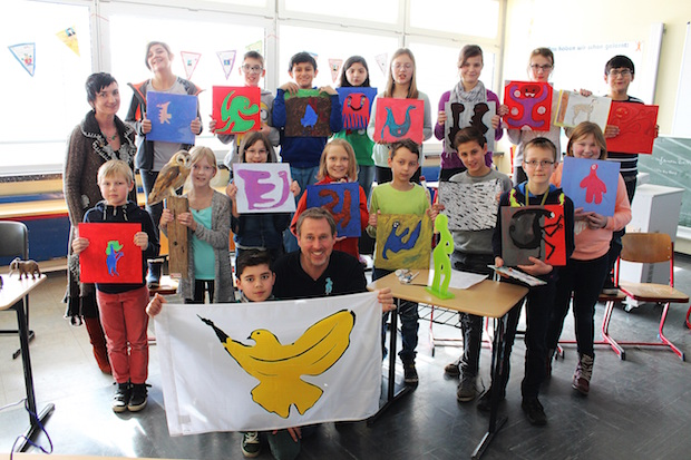 Photo of Kunstprojekt an der Sekundarschule Geseke