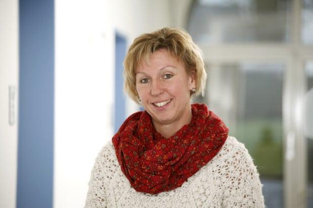 Christiane Schröter ist das neue Gesicht der Familialen Pflege am Winterberger Krankenhaus - Foto: Schmidt Fotografie, Quelle: St. Franziskus-Hospital gGmbH.