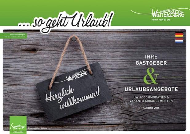Die Titelseite - Quelle: Winterberg Touristik und Wirtschaft GmbH