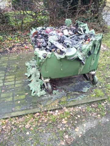 Photo of Brandserie auf Olsberger Friedhof