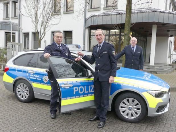 Neuer Streifenwagen für die Polizei im Kreis Soest (Foto: Kreispolizeibehörde Soest)