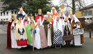 Sternsinger–Aktion 2016 in Hützemert