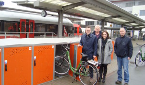 Bike & Ride-Anlage am Stadtbahnhof Iserlohn erweitert