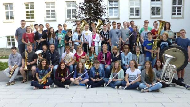 Das BlasOhrchester der städtischen Musikschule Lüdenscheid - Foto: Stadt Lüdenscheid