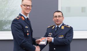 Erndtebrück: Brigadegeneral Lüth zu Besuch in der Hachenberg-Kaserne
