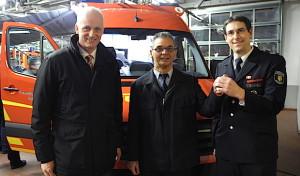 Neuer Einsatzleitwagen für Burbacher Feuerwehr