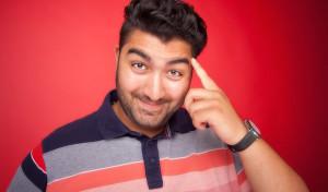 1,90 m geballte Comedy: Faisal Kawusi in Drolshagen