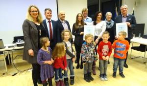RWE und Stadt Freudenberg übergeben Klimaschutzpreis 2015