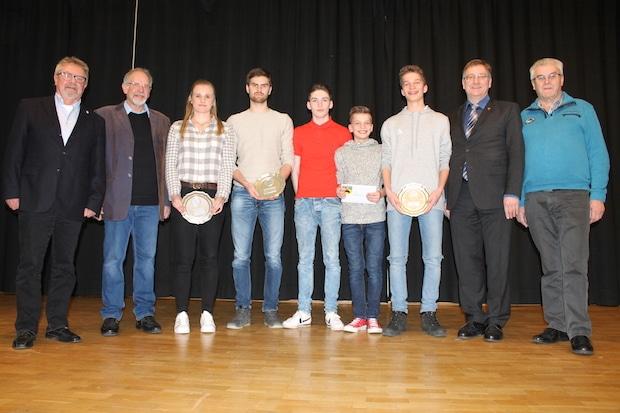 Photo of Jugendsportlerehrung im Gymnasium Netphen