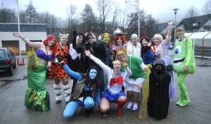 Karneval: Weiberfastnacht in Drolshagen (Fotostrecke)
