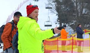 Winterberg: Streckenchef Brinkmann koordiniert die Ehrenamtlichen auf der Rennstrecke