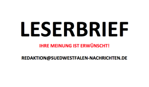 Leserbrief: Essbahnhof Grevenbrück und Glaubwürdigkeit