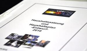 Lippstadt: Haushalt 2016 verabschiedet