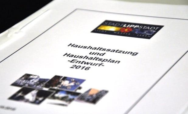 Im Ergebnishaushalt für das Jahr 2016 stehen Erträgen von rund 173 Millionen Euro Aufwendungen in einer Größenordnung von 181,2 Millionen Euro gegenüber (Foto: Stadt Lippstadt).