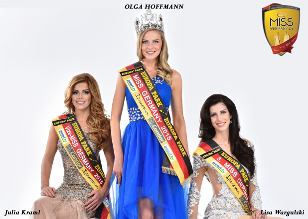 "Die Gewinnerinnen der ""Miss Germany 2015""-Wahl - Quelle: MGC-Miss Germany Corporation."