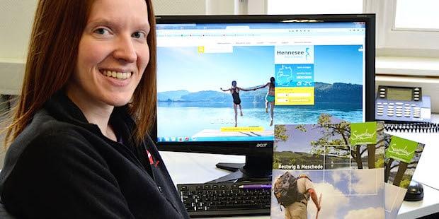 """Photo of Tourist-Information """"Rund um den Hennesee"""" mit neuer Internetseite"""