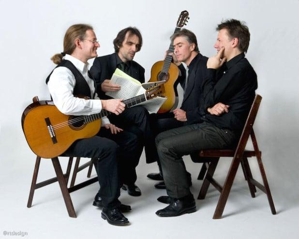 """Das """"Orlando Guitar Quartet"""" - Foto: @rtdesign, Quelle: Stadt Iserlohn"""