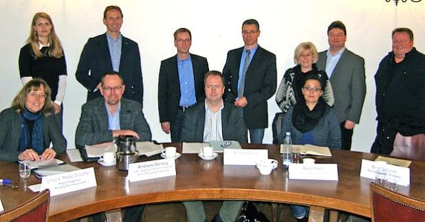 Der Runde Tisch Potentialberatung traf sich im Kreishaus Arnsberg zum Erfahrungsaustausch (Foto: Hochsauerlandkreis).