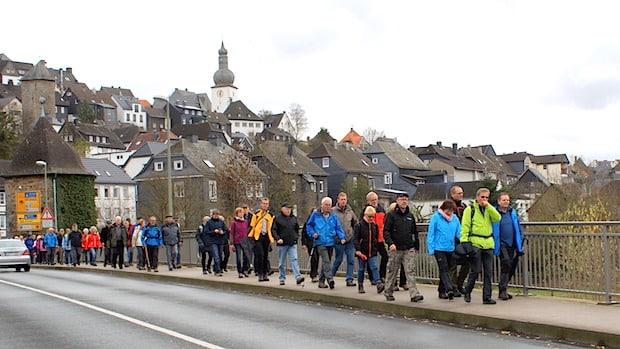 """Photo of SGV-Großwanderung """"Quer durch Arnsberg – von Hütte zu Hütte"""""""