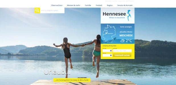 """Quelle: Tourist-Informationen """"Rund um den Hennesee"""""""