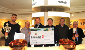 27. Krombacher Freizeit Cup bringt Spendenerlös von 5.055 Euro