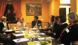 Meschede:  Erfolgreicher erster Unternehmerinnenstammtisch