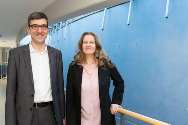 Prof. Bongardt und Prof.in Weiß - Foto: Universität Siegen