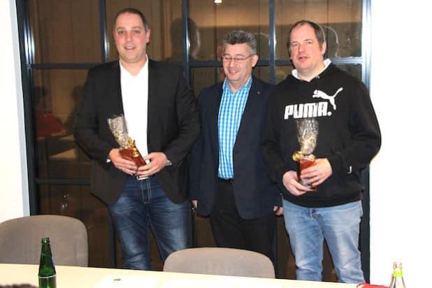 V.l.n.r.: Andre Grütz, Sascha Koch und Peter Schürholz - Foto: Stefan Tump
