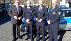 Führungswechsel bei den Polizeiwachen in Olpe und Lennestadt