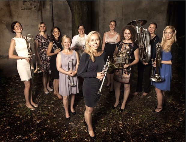 """Photo of Norwegisches Brassensemble """"tenThing"""" im April in Meinerzhagen"""