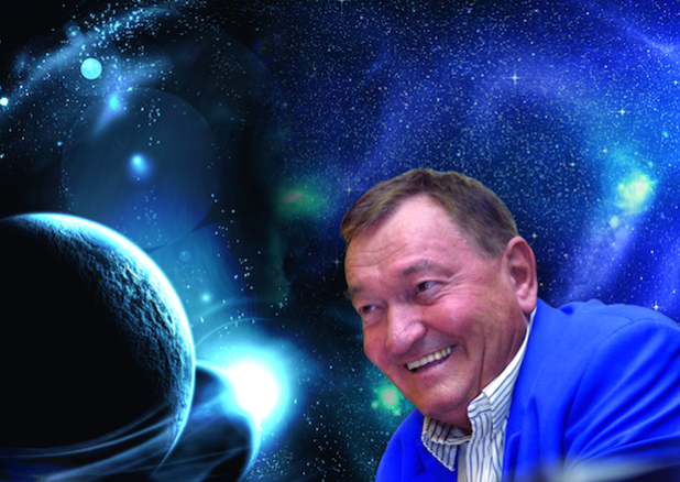 Der Bestseller-Autor und Grenzwissenschaftler Erich von Däniken spricht auf Einladung des Galileo-Parks am 29. April 2016 in Lennestadt (Quelle: Spreeforum International GmbH).