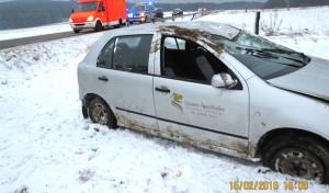 Warstein-Hirschberg: Auf schnellglatter Straße Kontrolle verloren