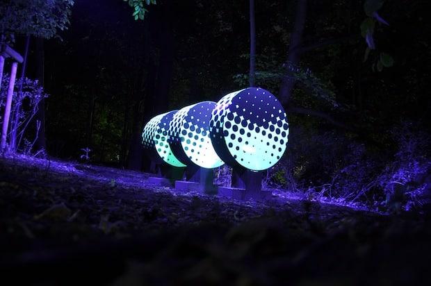 """Photo of Lippstadt: """"Durch die Nacht… entlang der Lippstädter Lichtpromenade"""""""