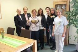 <b>Siegen: 1000 Euro und ein Ruhesessel für die Palliativstation</b>
