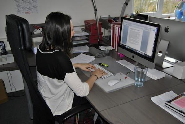 Photo of Aline Walter sammelt erste Erfahrungen im Medienbereich