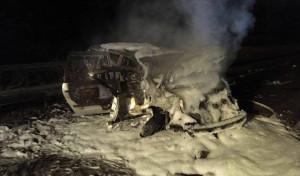 Schwerer Verkehrsunfall auf der BAB 46 fordert zwei Verletzte