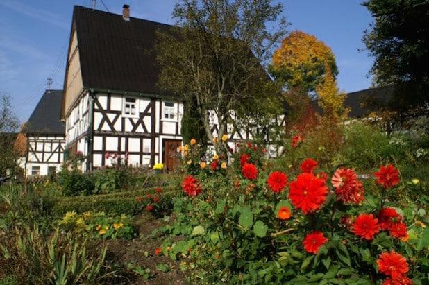 Ein Fachwerkhaus in Oechelhausen - Foto: Bernd Büdenbender