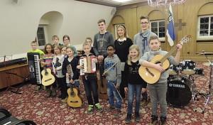 Abwechslungsreiches Programm der Musikschule Drolshagen beim Märzkonzert