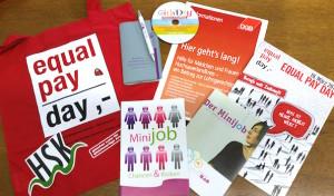 Gleichstellungsstellen informieren Frauen zum Tag der gleichen Bezahlung
