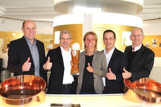 Photo of Krombacher Alkoholfrei ist offizieller Bier- und Sponsorpartner des Frankfurt Marathons