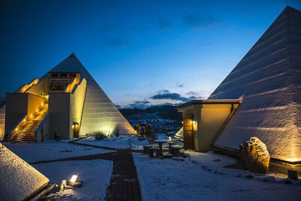 Galileo-Park im Winter - Quelle: Galileo-Park/Sauerland Pyramiden