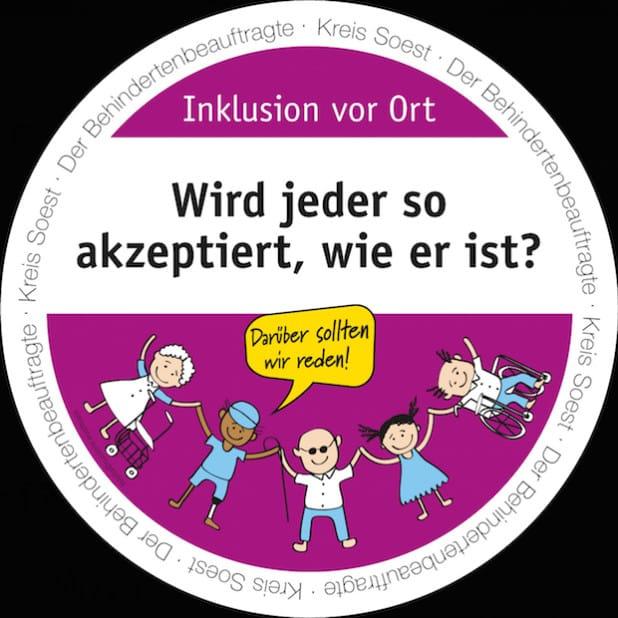 20 unbequeme Fragen auf Getränkeuntersetzern sollen zum Nachdenken und Diskutieren anregen (Quelle: Kreis Soest).