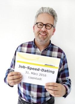 Thomas Hönemann, Organisator Job-Speed-Dating (Foto: Elisabeth Bormann/Jobcenter AHA)