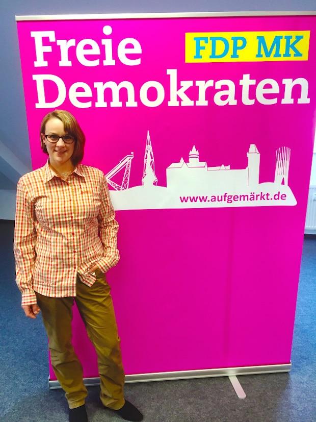 Annika Krause, Beisitzerin - Foto: FDP Meinerzhagen