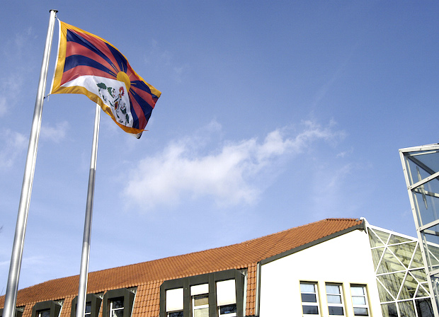 Photo of Kreis Soest zeigt Flagge für Tibet