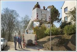 <b>Sanierung der Straßenbeleuchtungin Lüdenscheid: Fast 8000 Straßenlampen mit LED ausgestatte</b>