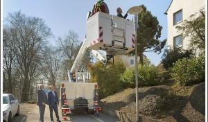 Sanierung der Straßenbeleuchtungin Lüdenscheid: Fast 8000 Straßenlampen mit LED ausgestatte