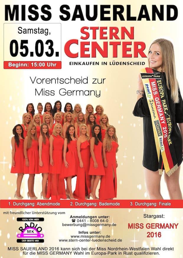 Photo of Das Stern-Center sucht die Miss-Sauerland 2016