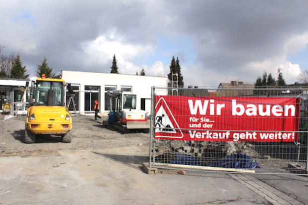 Die Poststelle am Riga-Ring zieht in das erneuerte Gebäude nebenan und bekommt somit  mehr Lagerfläche (Foto: RIGARING).